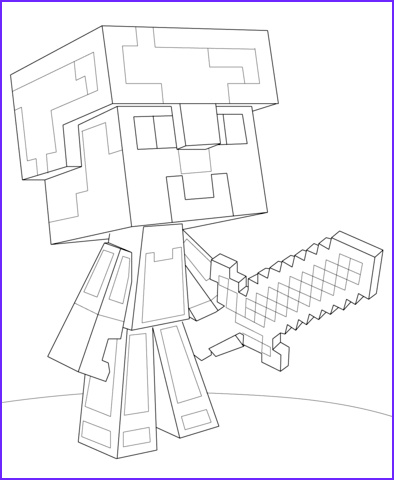 Diamond Coloring Page Inspirational Gallery Minecraft Coloring Pages to and Print for Free