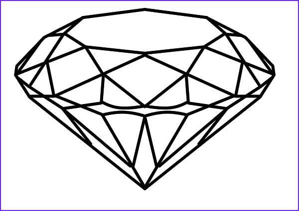 Diamond Coloring Page Luxury Collection Pin On Coloring Books