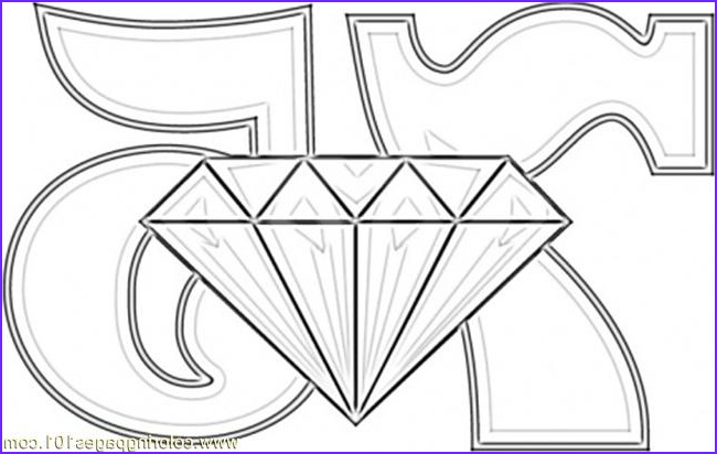 Diamond Coloring Page Luxury Photography Diamond Wedding Coloring Page Coloring Page Free Numbers
