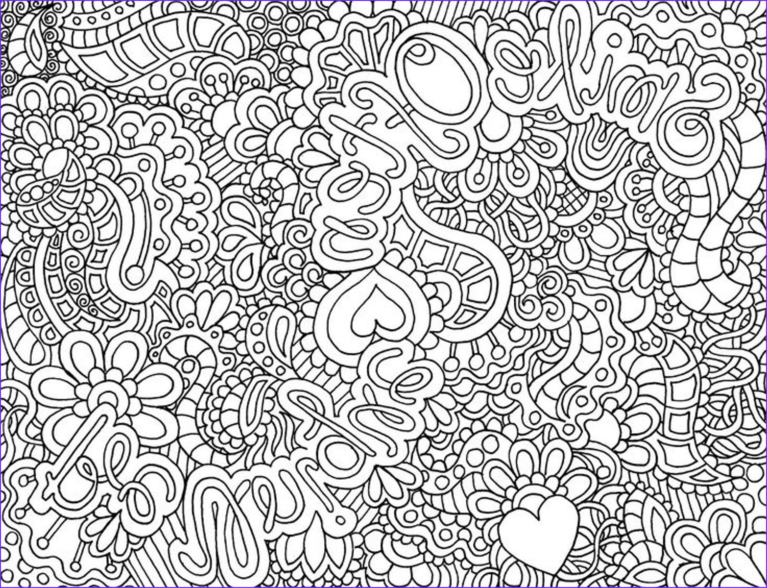 Difficult Coloring Pages Cool Photos Difficult Hard Coloring Pages Printable