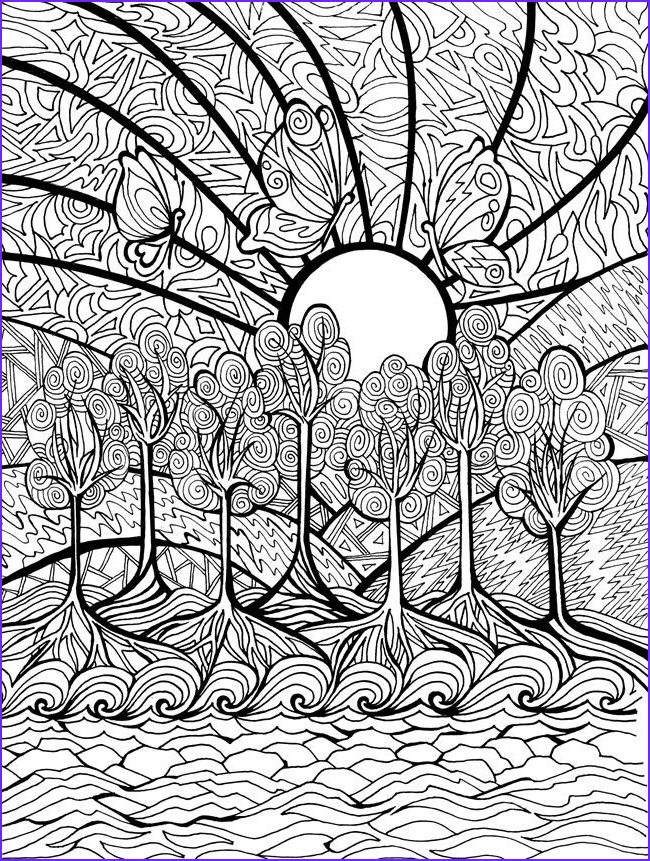 Difficult Coloring Pages New Photography Creative Haven Dreamscapes Coloring Book