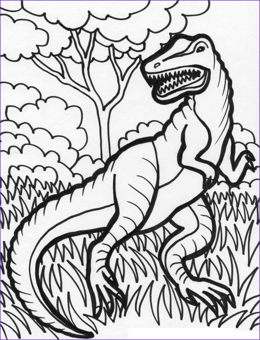 Dino Coloring Pages Cool Images Free Printable Dinosaur Coloring Pages for Kids