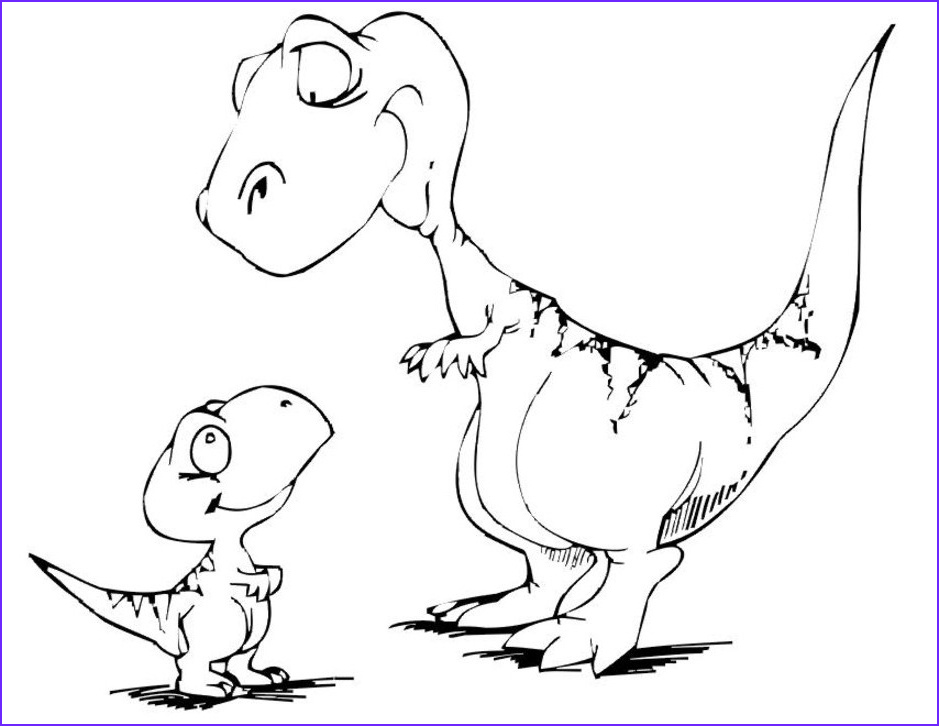 Dinosaur Coloring Beautiful Photos Dinosaur Coloring Pages Free Printable Coloring