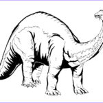 Dinosaur Coloring Pictures Cool Stock Img