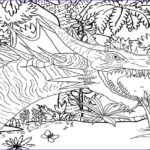 Dinosaur Coloring Pictures Inspirational Image Line Coloring Pages Fanged Poisk
