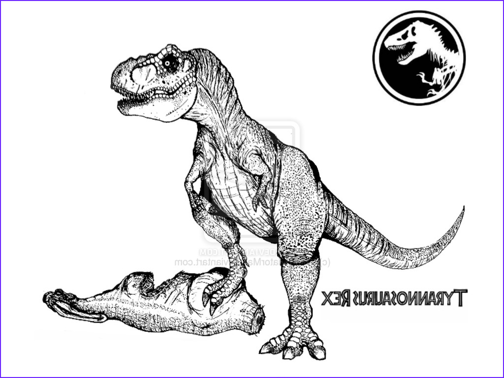 474 t rex coloring page