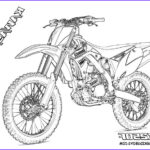 Dirt Bike Coloring Pages Awesome Collection Kawasaki Dirt Bike Coloring Pages