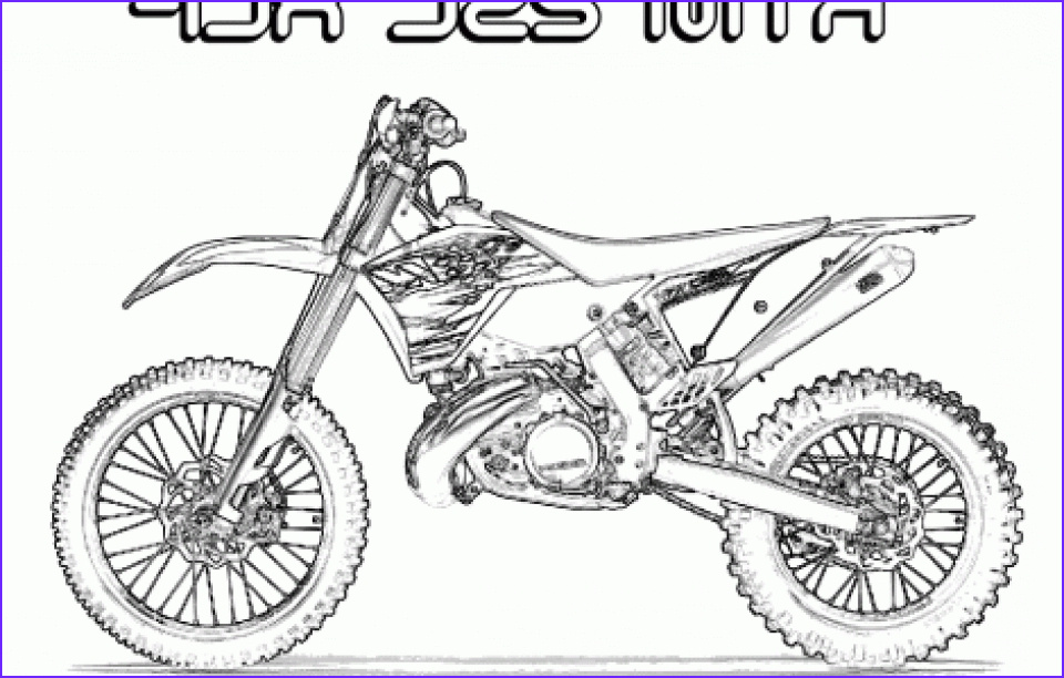 dirt bike coloring pages to print for kids aiwkr