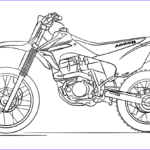 Dirt Bike Coloring Pages Beautiful Photos Honda Dirt Bike Coloring Page