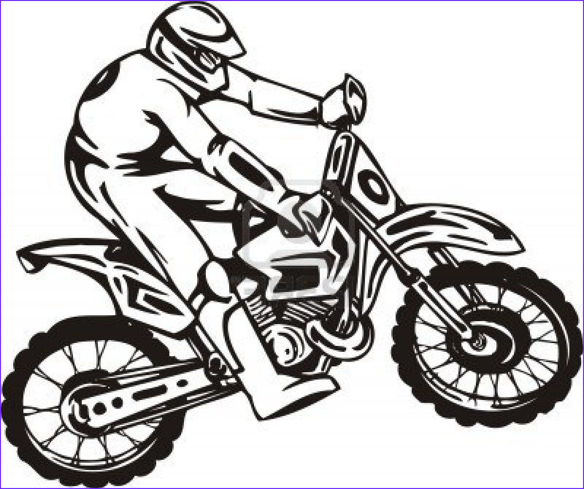 Dirt Bike Coloring Pages Beautiful Photos Motorcross Coloring Pages Coloring Home