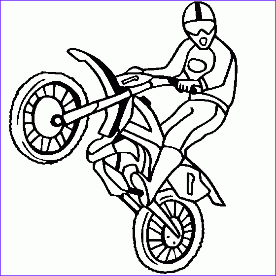 Dirt Bike Coloring Pages Best Of Collection Get This Preschool Dirt Bike Coloring Pages to Print Nob6i