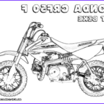 Dirt Bike Coloring Pages Cool Photos Hard Rider Dirtbike Print Outs Pocket Bikes Free