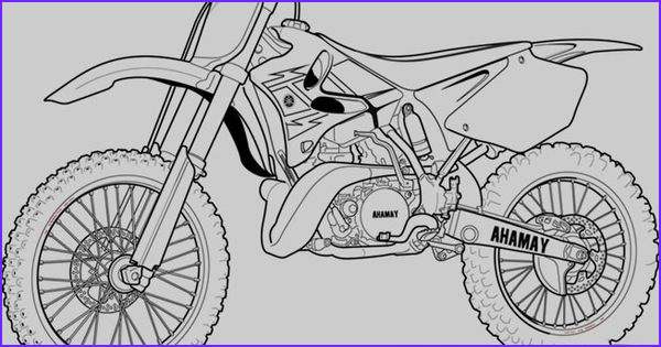 Dirt Bike Coloring Pages Elegant Gallery Motorcycle Coloring Pages