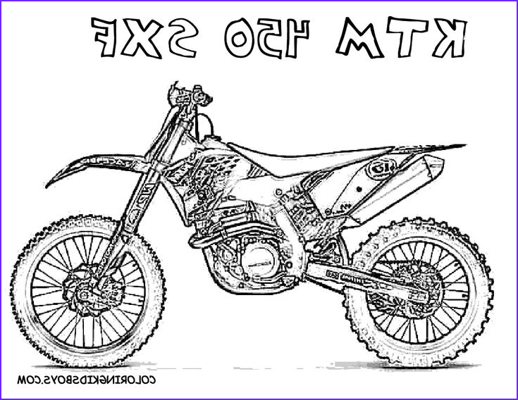 Dirt Bike Coloring Pages Luxury Images Coloring 2 Dirt Bikes Free Motorbike Pages