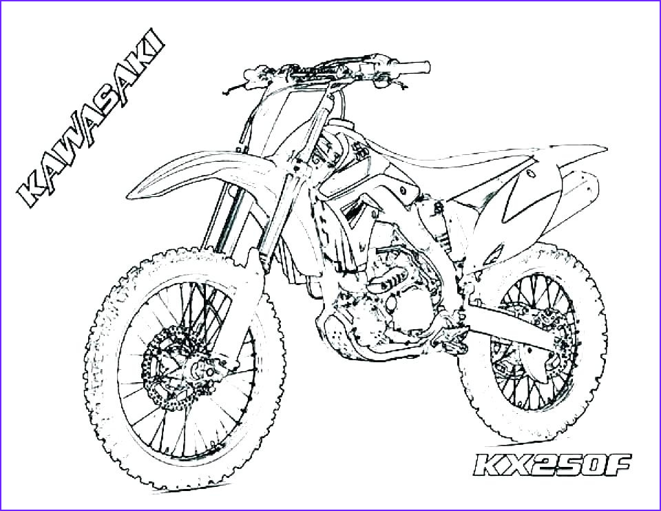 Dirt Bike Coloring Pages Unique Photos Dirt Bike Pictures to Print – Sugarbucketink