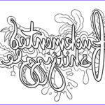 Dirty Coloring Book Cool Images Swear Words