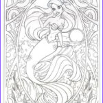 Disney Adult Coloring Books Cool Photos Coloring Page For Later This Art Nouveau