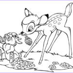 Disney Animals Coloring Book Best Of Photos Free Printable Bambi Coloring Pages For Kids