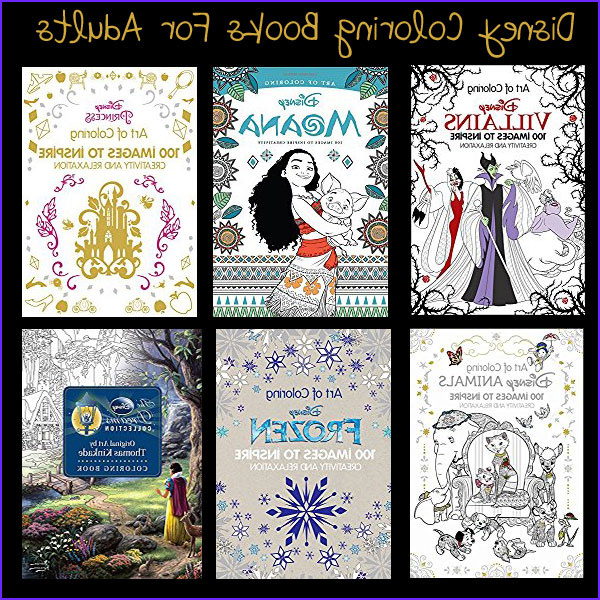 disney coloring books for adults