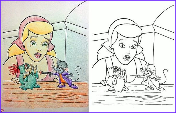 coloring book corruptions what happens when you let adults loose on a disney coloring book