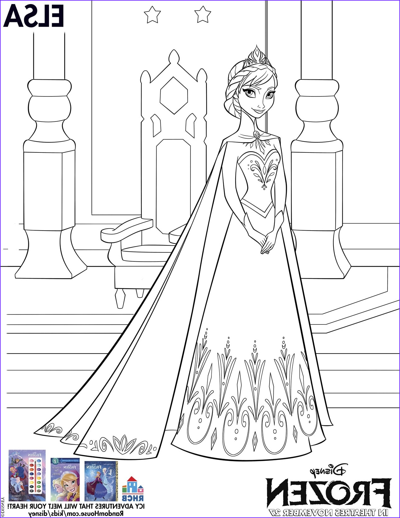 Disney Coloring Pages Pdf New Photography Disney S Frozen Free Printables for Kids Lady and the Blog