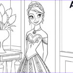 Disney Frozen Coloring Pages Beautiful Collection All The Disney Frozen Characters Coloring Pages