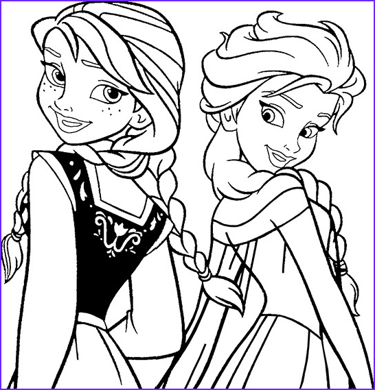 free printable disney frozen coloring pages