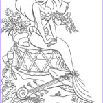 Disney Princess Adult Coloring Book Awesome Images Disney Princess Celebrate Christmas Day Coloring Pages