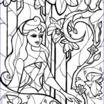 Disney Princess Adult Coloring Book Unique Gallery Stained Glass Sleeping Beauty Coloring Sheet By Man
