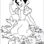 Disney Princess Halloween Coloring Pages Cool Images Halloween Snow White Print And Color