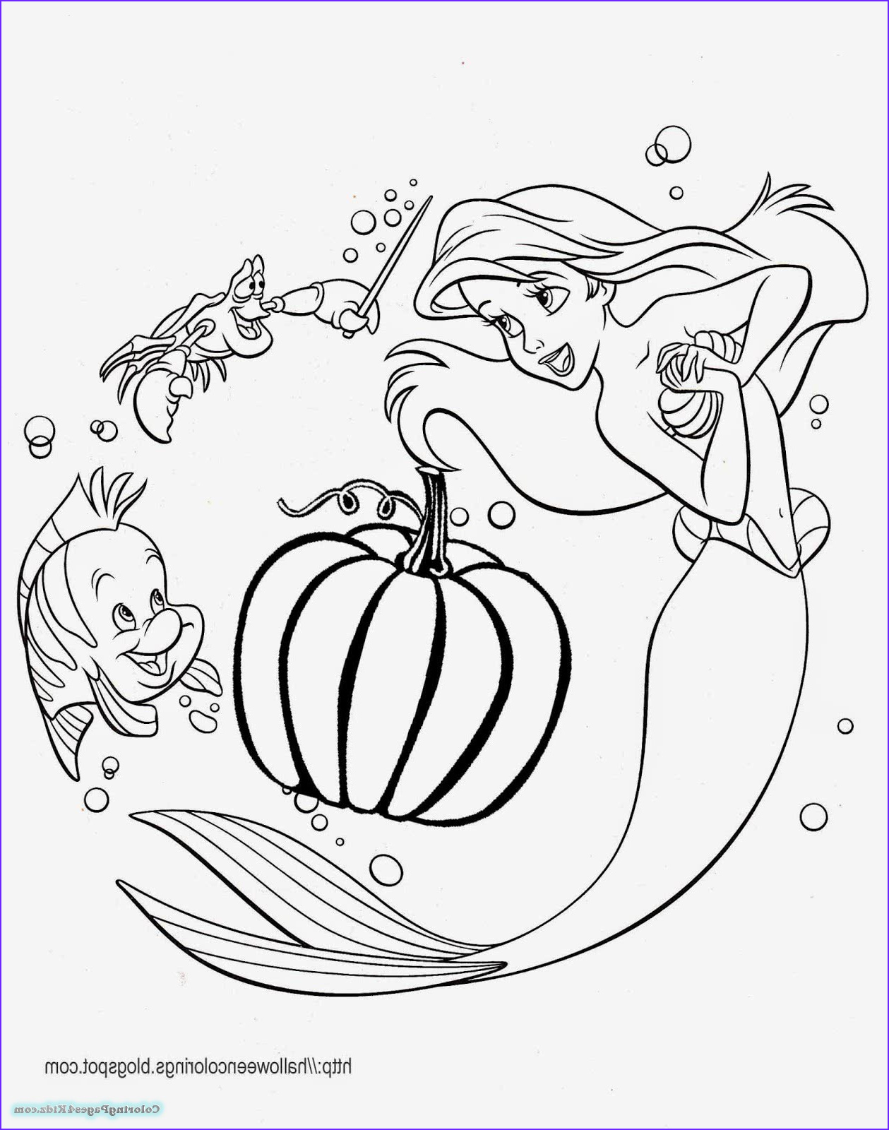disney princess halloween coloring pages 1015