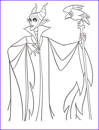 Disney Villain Coloring Pages Beautiful Photos Disney's Maleficent Free Printables Crafts and Coloring