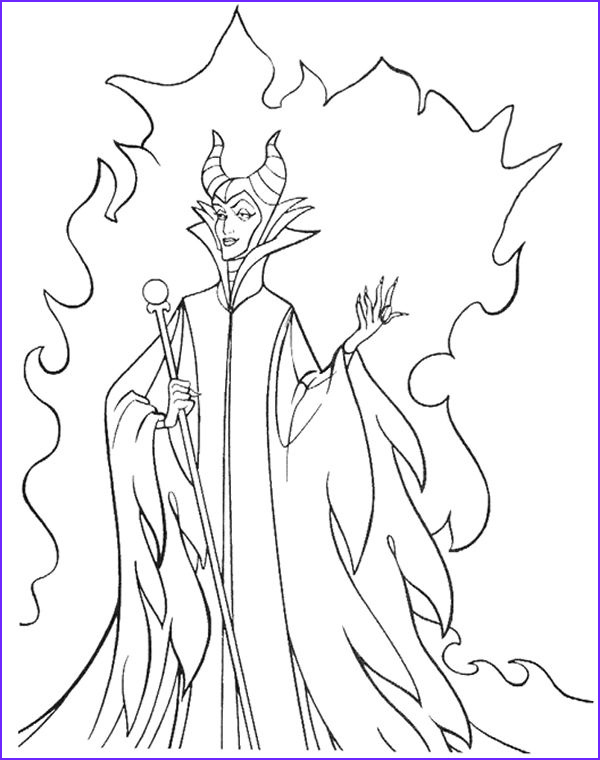 Disney Villain Coloring Pages Cool Gallery Disney Villains Coloring Pages