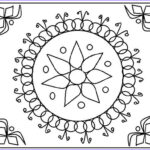 Diwali Coloring Pages Awesome Photos Free Printable Rangoli Coloring Pages For Kids