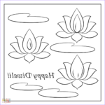 Diwali Coloring Pages Cool Photography Happy Diwali Card Coloring Page