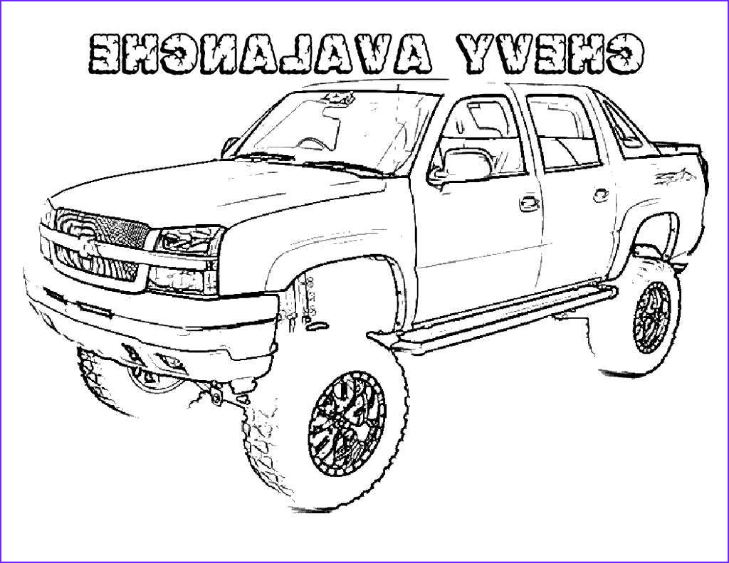dodge ram coloring pages trucks outstanding