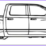 Dodge Ram Coloring Pages Cool Image Dodge Ram Truck Coloring Page