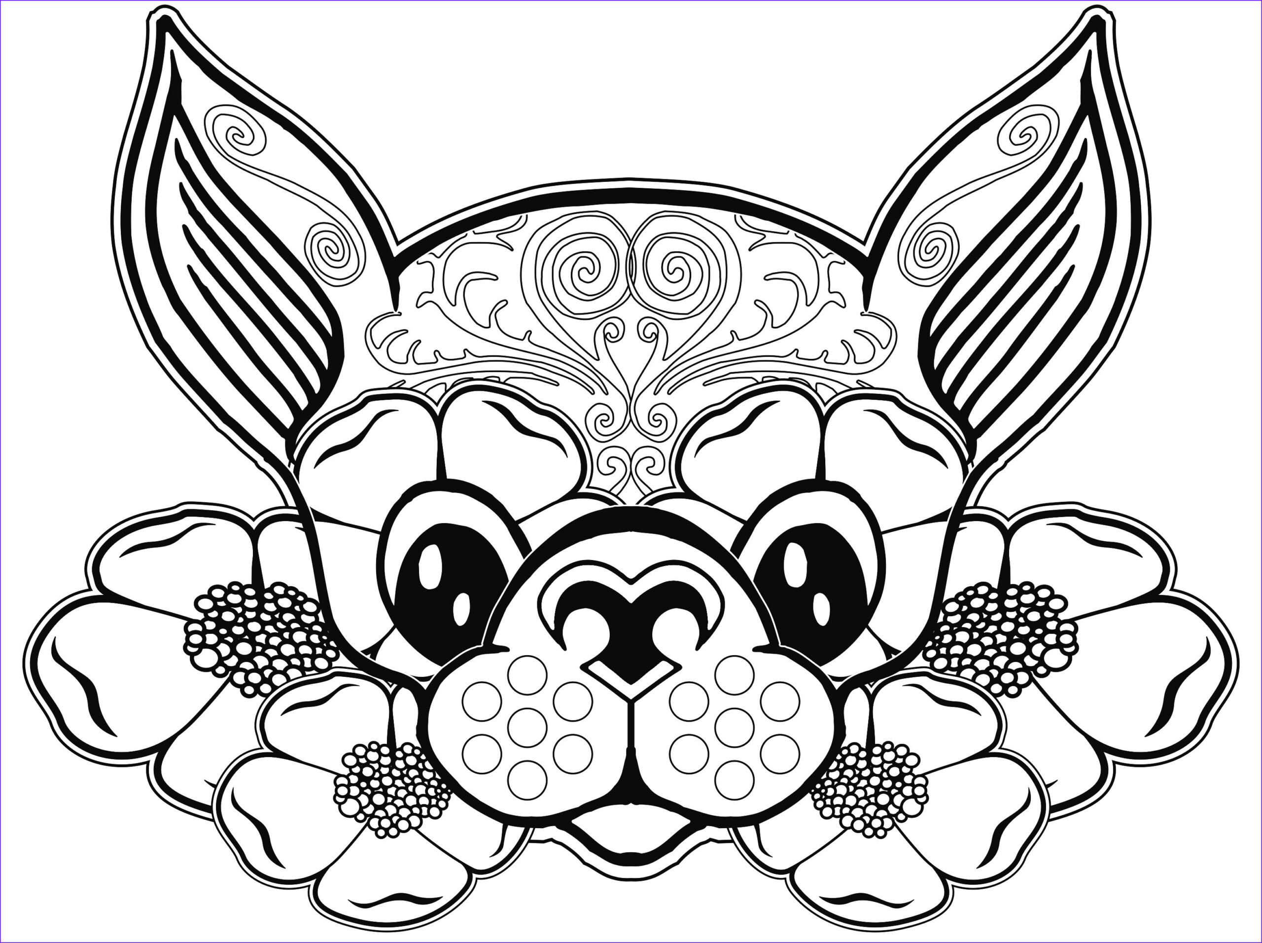 Dog Adult Coloring Book Beautiful Gallery Dog Coloring Page Dog Coloring Pages Free Coloring Page