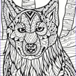 Dog Adult Coloring Book Best Of Collection Dog Zentangle