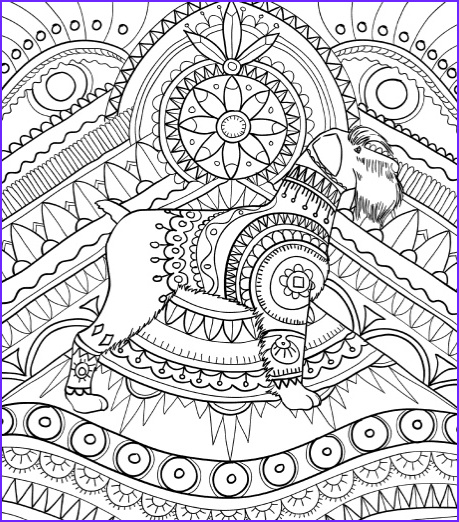Dog Adult Coloring Book Best Of Gallery Best Coloring Books for Dog Lovers Cleverpedia