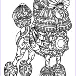 Dog Adult Coloring Book Elegant Stock Free Book Dog Poodle Dogs Adult Coloring Pages