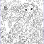 Dog Adult Coloring Book Inspirational Collection 56 Best Images About Värityskuvia On Pinterest