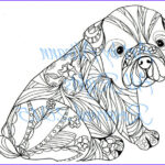 Dog Adult Coloring Book Unique Stock French Bulldog Frenchie Digital Download Love Dogs