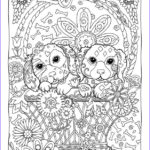 Dog Coloring Book For Adults Awesome Stock 230 Best Coloriage Mandala Chien Images On Pinterest