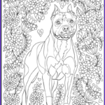 Dog Coloring Book For Adults Beautiful Image De Stress With Dogs Downloadable 10 Page Coloring Book