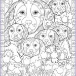 Dog Coloring Book For Adults New Stock Creative Haven Playful Puppies Coloring Book By Marjorie