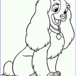 Doggie Coloring Pages Inspirational Gallery Disney Lady The Dog Coloring Page Free & Printable