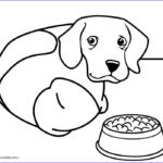 Doggie Coloring Pages Inspirational Stock Printable Dog Coloring Pages For Kids