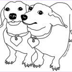 Doggie Coloring Pages Luxury Collection Its A Colourful World Dachshund Coloring Pages