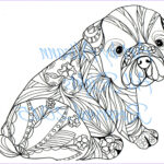 Dogs Coloring Pages For Adults Awesome Gallery French Bulldog Frenchie Digital Download Love Dogs